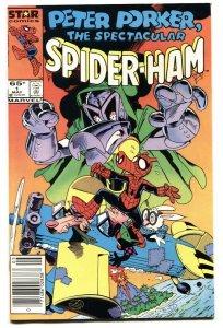 Peter Porker, The Spectacular Spider-Ham #1 Newsstand variant NM-