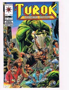 Turok Dinosaur Hunter #2 NM Valiant Comics Comic Book Aug 1993 DE28