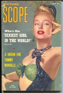 Picture Scope 3/1956-Lilli St Cyr-Joan Collins-Earl McPherson-VG