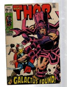 Mighty Thor # 168 FN- Marvel Comic Book Loki Odin Asgard Sif Avengers Hulk RB8