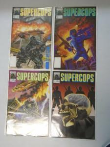 Supercops set #1-4 6.0 FN (1990)