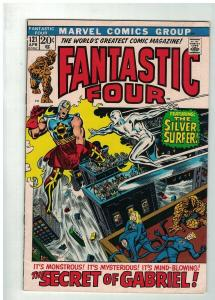 FANTASTIC FOUR 121 VG+April 1972 Silver Surfer