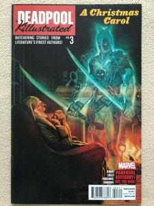DEADPOOL KILLUSTRATED - ISSUE #3 First Printing CHRISTMAS CAROL - MARVEL