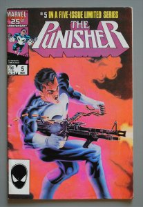 Punisher (1986 Series) #5 F/Better