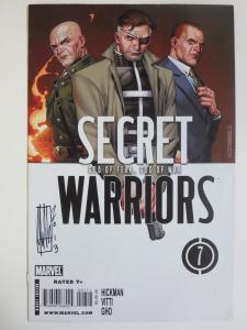Secret Warriors #7 (Marvel 2009) Nick Fury Inhumans Signed by Alessandro Vitti