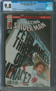 Amazing Spider-Man #31 CGC Graded 9.8 Superior Octopus appearance