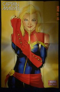 CAPTAIN MARVEL Promo Poster, 24 x 36, 2013, MARVEL Unused more in our store 527