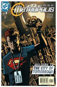 Superman Metropolis #1 (DC, 2003) VF