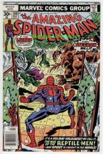SPIDER-MAN #166, VF, Lizard, Stegron, Amazing, 1963, Ross Andru, Len Wein