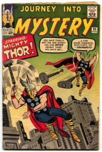 Journey Into Mystery #95 comic book 1963-THOR-JACK KIRBY Silver Age VG