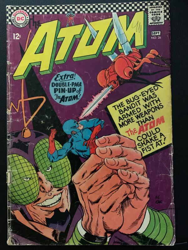 the Atom (1962) 26 VG- (3.5)