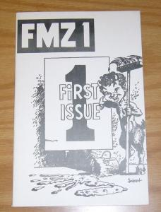 FMZ #1 VF/NM basil wolverton - robert crumb - steve ditko - john severin fanzine