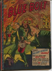 Blue Bolt Vol. 8 #6 1947-Novelty-Sgt Spook-Don Rico-military stories-VG