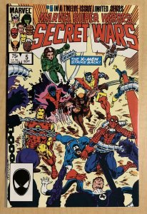 Marvel Super Heroes Secret Wars #5 F 6.0 FREE COMBINED SHIPPING