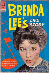 Brenda Lee #1 (Jul-62) VG Affordable-Grade Brenda Lee