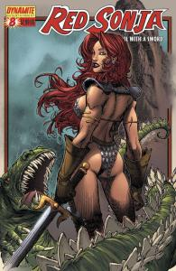 Red Sonja #8 (Dynamite) - Brandon Peterson 'Deadly' Cover
