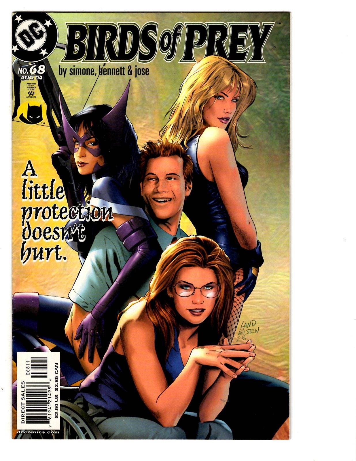 5 Birds Of Prey Dc Comics 68 69 70 71 72 Oracle Black Canary Huntress Bh17 Hipcomic