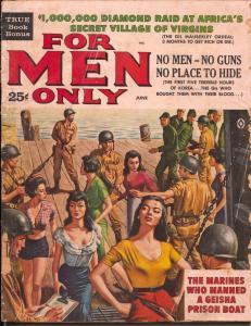 Action For Men 6/1961-Atlas-Geisha's-Hitler-Ray DeSoto-Al Rossi-Copleand-FR/G