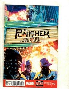 Lot Of 9 Punisher Marvel Comic Books # 12 13 14 15 16 17 18 19 20 Edmondson RP6