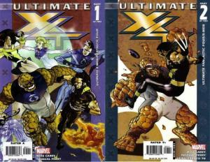 ULTIMATE X4 (2006) 1-2  Complete 2-Part Story!