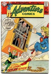 ADVENTURE COMICS #387 1969-SUPERGIRL-LEX LUTHOR-DC COMICS-VG