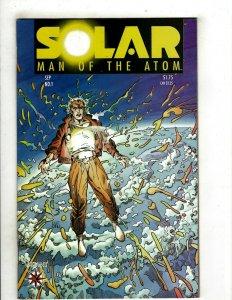 Solar Man Of The Atom # 1 VF Valiant Comic Book Pre-Unity Shadowman Rai YY10