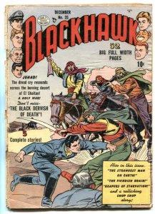 Blackhawk Comics #35 1950- Golden Age G-