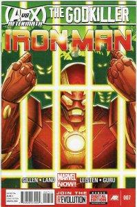 Iron Man #7 (2013 v5) Greg Land NM