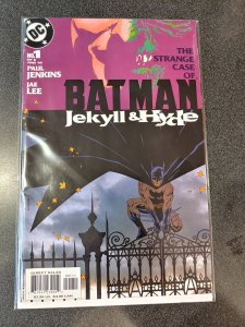 ​BATMAN JEKYLL & HYDE #1 NM