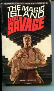 DOC SAVAGE-THE MAGIC ISLAND-#89-ROBESON-VG/FN-BOB LARKIN COVER-1ST EDITION VG/FN
