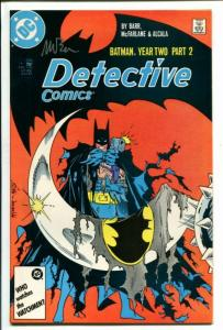 Detective #576-1987-YEAR TWO-NM-Near Mint-SIGNED by MIKE BARR