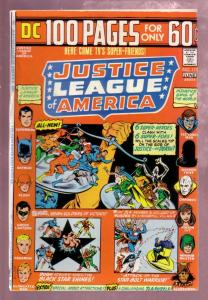 JUSTICE LEAGUE OF AMERICA #111 1974 BATMAN-WW-GL-FLASH VF