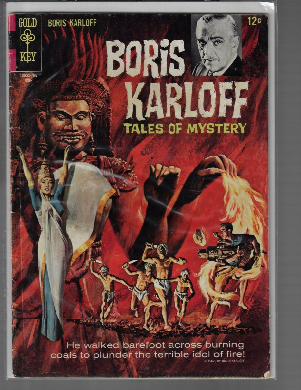 Boris Karloff: Tales of Mystery #18 (Gold Key, 1967)