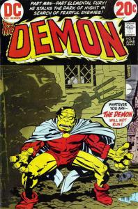 Demon, The (1st Series) #9 FN; DC | save on shipping - details inside