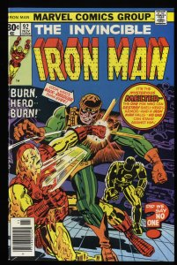 Iron Man #92 NM+ 9.6 Marvel Comics