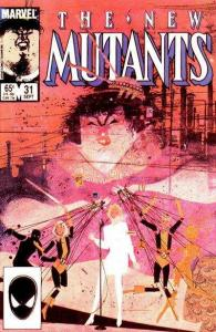 New Mutants (1983 series) #31, NM- (Stock photo)