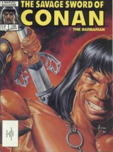 Savage Sword of Conan (1974 series) #130, Fine- (Stock photo)