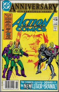 Action Comics #544 (DC, 1983) - 1st Luthor War Suit