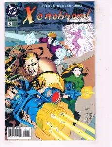 Xenobrood #5 VF DC Comics Modern Age Comic Book Moench Mar 1995 DE47 AD33