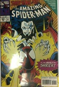 The amazing spiderman #391 8.0 VF (1994)