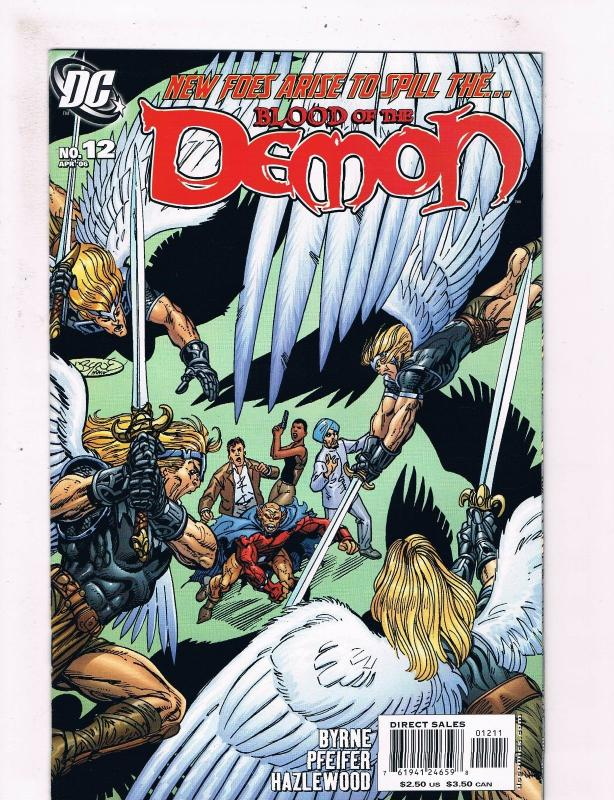 Blood Of The DEMON # 12 NM 1st Print 2006 Series DC Comic Book John Byrne S58