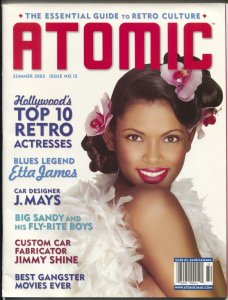 Atomic-The Essential Guide To Retro Culture-#15-last issue-music-FN/VF