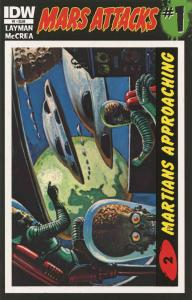 Mars Attacks (3rd Series) #1A (2nd) VF/NM; IDW | save on shipping - details insi