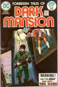 FORBIDDEN TALES OF THE DARK MANSION 14 F-VF Jan. 1974 COMICS BOOK