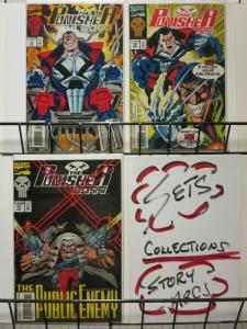PUNISHER 2099 (1993) 15-17 Public Enemy story arc