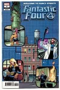 Fantastic Four #4 Yancy Street Variant (Marvel, 2019) NM