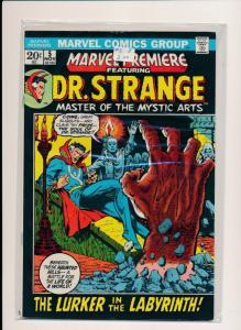 MARVEL DR. STRANGE THE LURKER IN THE LABYRINTH #5 FINE/VERY FINE (HX688)