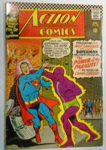 Action Comics #340, 1st App Parasite (Tape On Cover) 2.5 (1966)