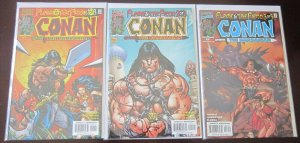 Conan The Barbarian Comics Set # 1 - 3 - 8.0 VF - 2000