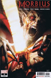 Morbius Living Vampire #2 2019 Marvel Comics